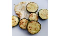 Sellerie und Zucchini von der Plancha