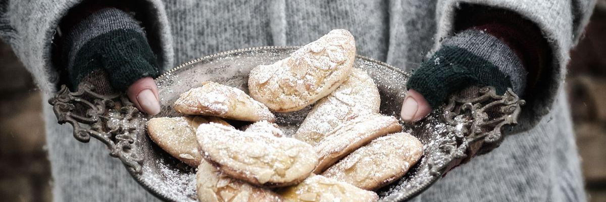 Bratapfelplätzchen aus dem MERKLINGER Holzbackofen & Grill