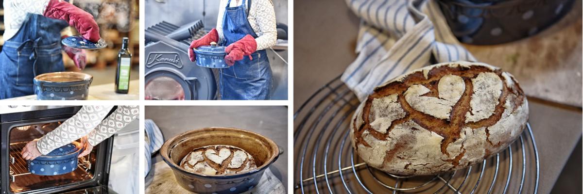 Einfach Brot backen. Anleitung in Bildern: