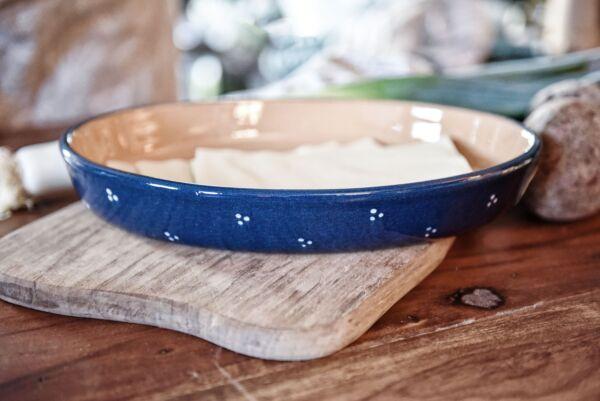 Gratinform No. 30 'Agathe', oval, blau