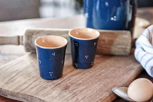 Espressotasse 'Agathe', dunkelblau