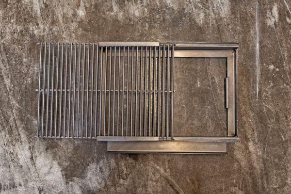 Grillrost, ausziehbar, für MERKLINGER 600 - rechts
