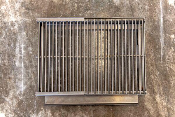 Grillrost, ausziehbar, für MERKLINGER 800 - rechts