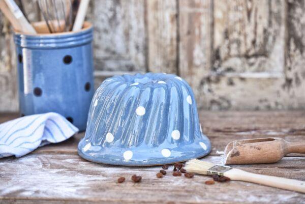 Gugelhupf 'Lilly', ø 20 cm, hellblau