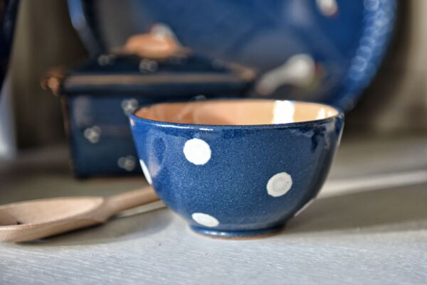 Schüssel 'Lilly', 12 cm, dunkelblau