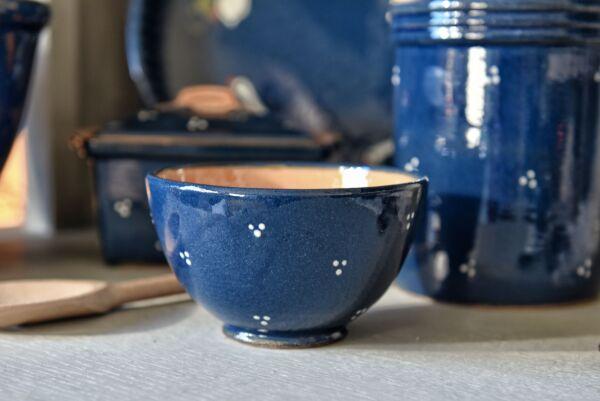 Schüssel 'Agathe', 14 cm, dunkelblau