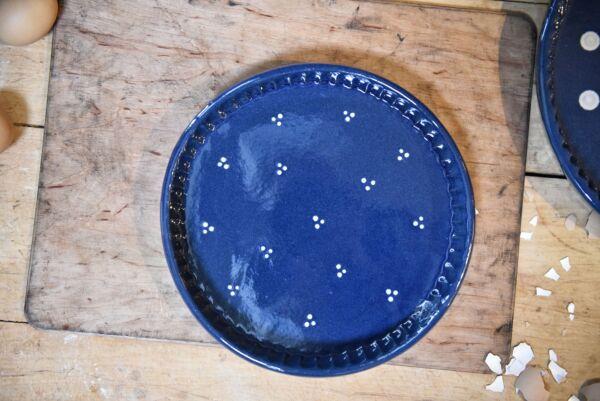 Tarteform petit 'Agathe', dunkelblau