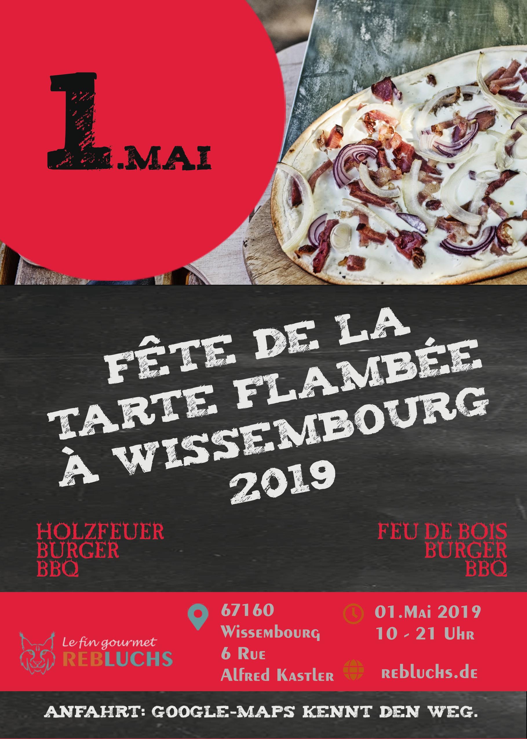 Fête de la tarte flambée à Wissembourg 2019