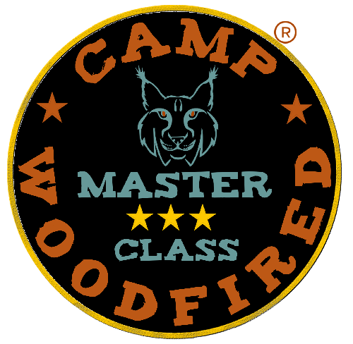Camp woodfired