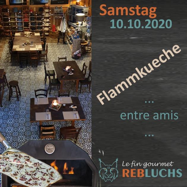 Flammkuchenabend - Soirée Tarte Flambée - 10.10.2020